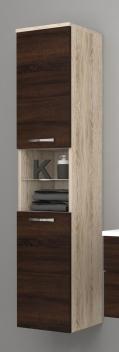 Vysoká závěsná koupelnová skříňka Lorieta ssc 1