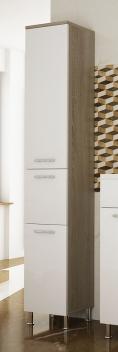 Vysoká koupelnová skříňka Valencia sbl 1