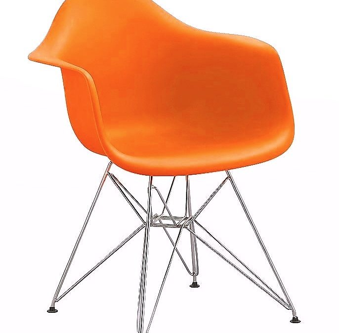 Smartshop Jídelní židle – křeslo REGIA oranžová
