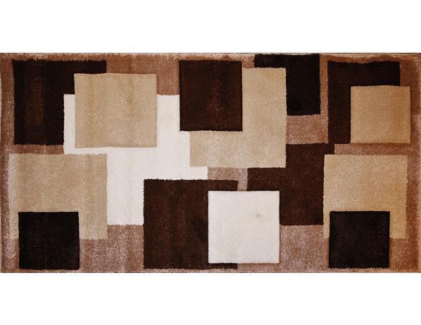 Kusový koberec Rumba 8423, hnědý