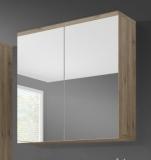 Výprodej – Horní koupelnová skříňka Demario – dub san remo