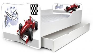 Výprodej – Dětská moderní postel Formule 1