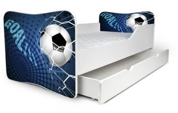 Výprodej – Dětská jednolůžková postel Fotbal