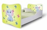 Výprodej – Dětská postel se zábranami Sloník 2
