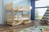 Výprodej – Dětská patrová postel Tripoli – bílá