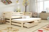 Výprodej – Dětská postel s přistýlkou Sinoma – moření ořech