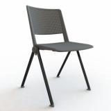 Výprodej – Plastová stohovatelná konferenční židle Zora 4