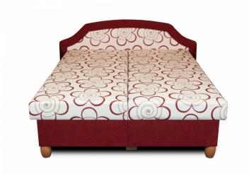 Výprodej – Čalouněná postel s úložným prostorem Bianka – čalounění 92 + 47, 160 x 195 cm