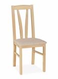 Výprodej – Buková jídelní židle Balbina 1 – bílá