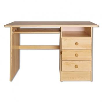 Výprodej – Jednoduchý dřevěný psací stůl Elias
