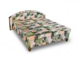 Výprodej – Čalouněná postel Damara – čalounění 33, 140 x 200 cm