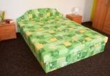 Výprodej – Čalouněná postel Aria – 160 x 195 cm, látka č. 33