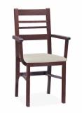 Výprodej – Dřevěná jídelní židle Latafa 1 – olše