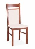Výprodej – Jídelní židle Rosalia – ořech, ma 11