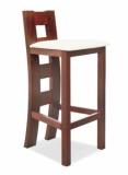 Výprodej – Barová židle z masivu Kaukara – MA04/jabloň