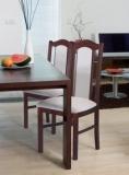 Výprodej – Jídelní židle Irma 1 – ořech / 25A