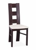 Výprodej – Jídelní židle z masivu Ihama 8 – bílá