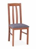 Výprodej – Jídelní židle Elenora – ořech, bavaria 1