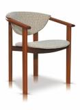 Výprodej – Retro jídelní židle Lajla – bavaria 2/bílá