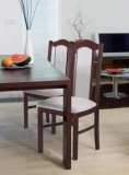 Výprodej – Jídelní židle Irma 1 – ořech / 33