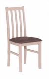 Výprodej – Jídelní židle Gizela – tkanina 12/dub