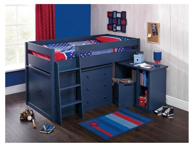 ORFA MIX FINSBURY dětský pokoj, modrá