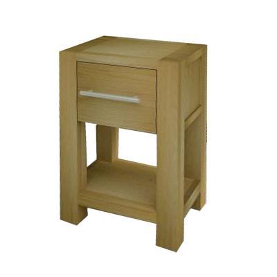 Idea Noční stolek LED-036, dub