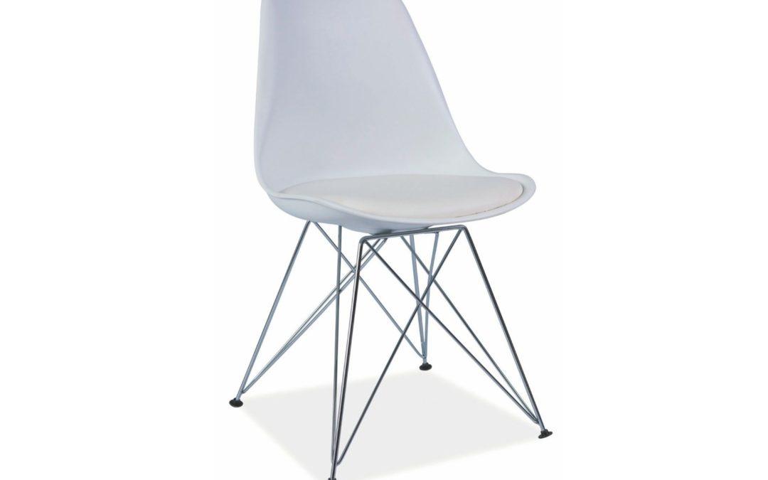 Smartshop Jídelní židle TIME, bílá