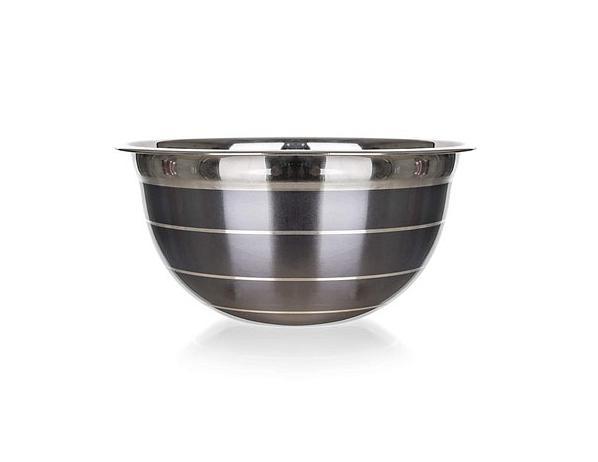 BANQUET Mísa nerezová AVANZA, 23 cm, šedá