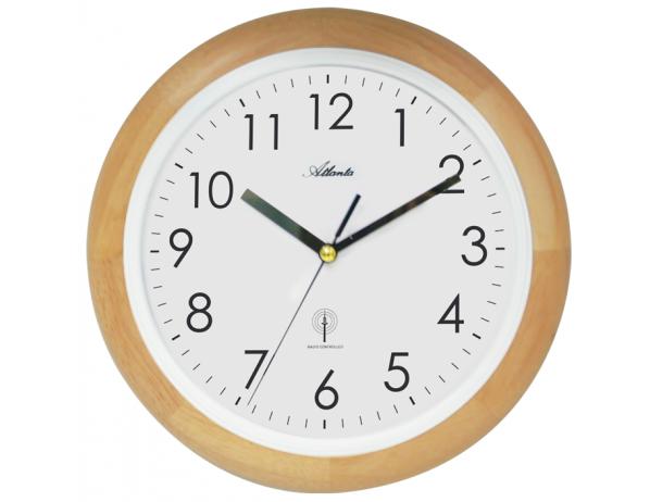 Designové nástěnné hodiny AT4323-30 řízené signálem DCF