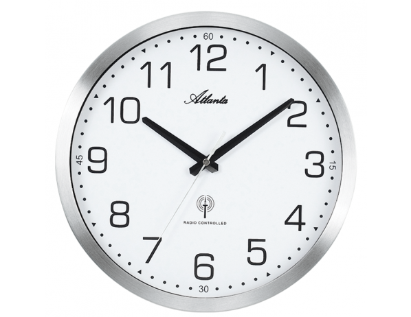 Designové nástěnné hodiny AT4371-0 řízené signálem DCF