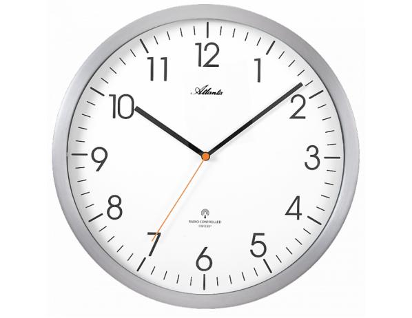 Designové nástěnné hodiny AT4382-4 řízené signálem DCF