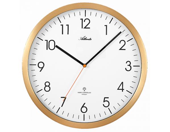 Designové nástěnné hodiny AT4382-9 řízené signálem DCF