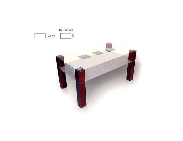 Konferenční stolek Duo 80×60 cm olše