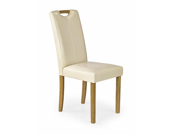 Jídelní židle Caro, krémová