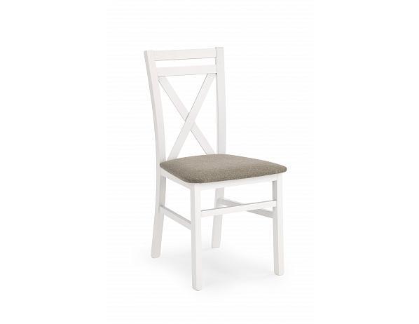Jídelní židle Dariusz, bílá
