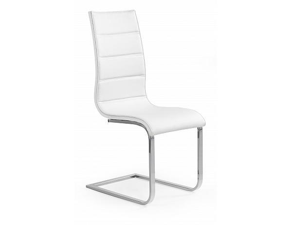 Jídelní židle K104, bílá