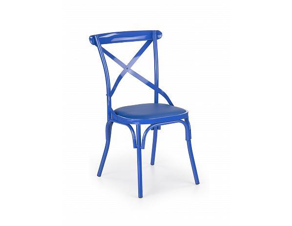 Jídelní židle K216, modrá