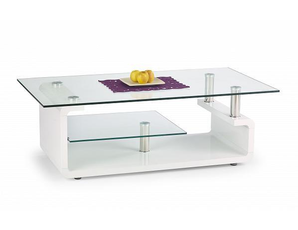 Konferenční stolek Cynthia bílý
