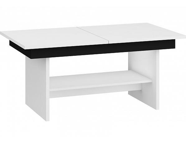 Konferenční stolek Dallas, bílý