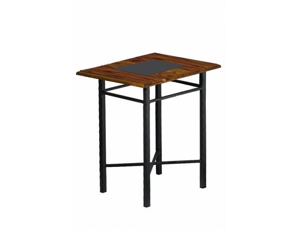 Kovový noční stolek CHAMONIX 0466