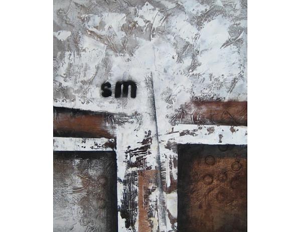 Obraz – Bílá stěna