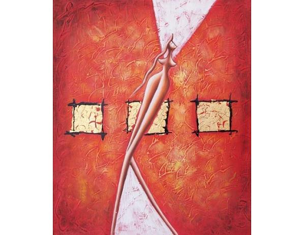 Obraz – Červená tanečnice