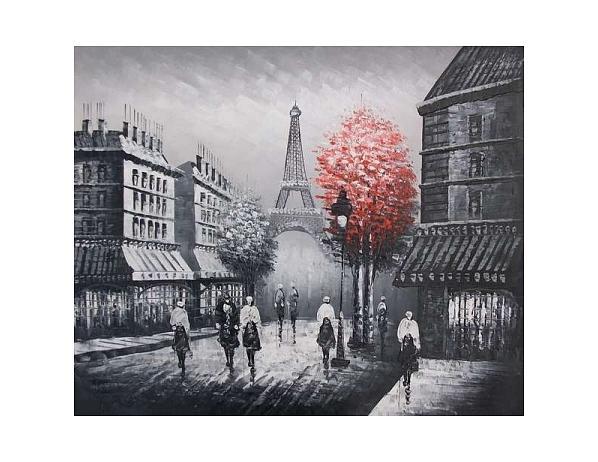 Obraz – Červený strom