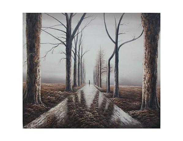Obraz – Cesta do neznáma