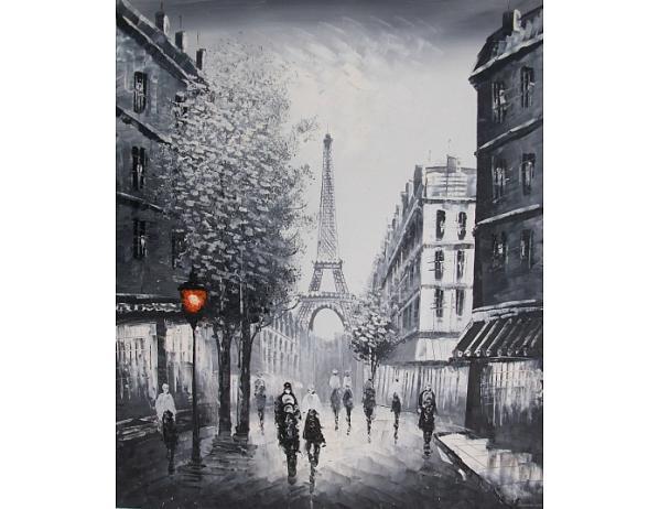 Obraz – Chůze po ulici