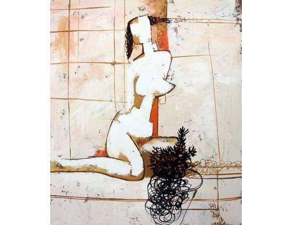Obraz – Moderní akt ženy