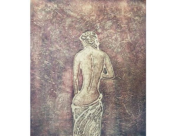 Obraz – Odhalená zlatá žena