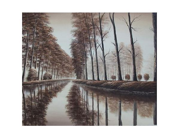 Obraz – Vodní cesta