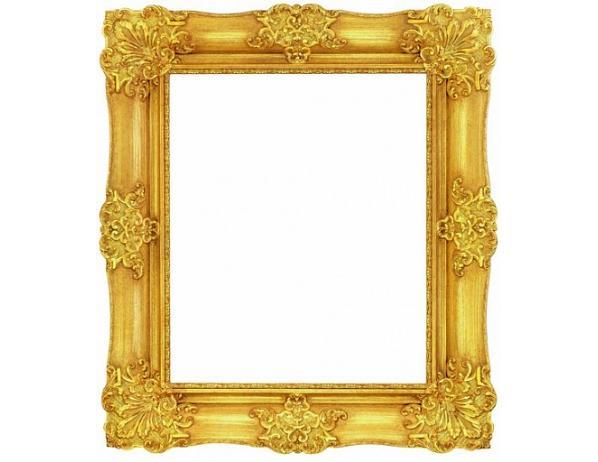 Obrazový rám – Gold shine
